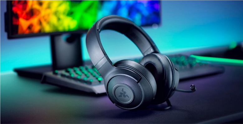 Игровая гарнитура Razer Kraken X поддерживает восьмиканальный звук