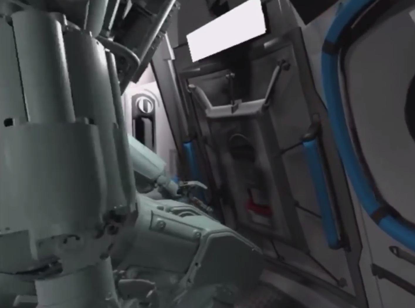 Люк корабля «Союз МС-14» оказался узок для робота FEDOR - 2