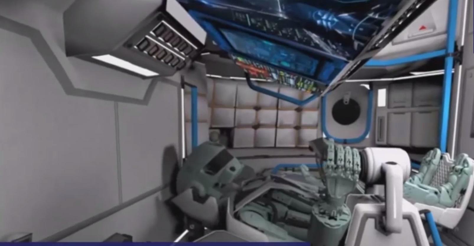 Люк корабля «Союз МС-14» оказался узок для робота FEDOR - 1