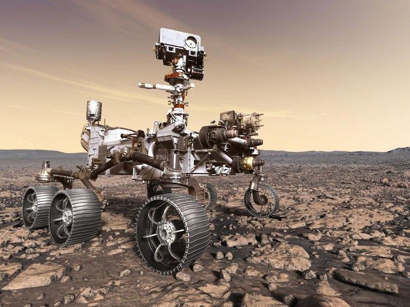NASA транслирует строительство будущего марсохода