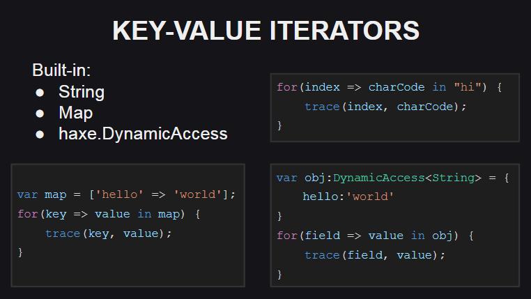 Поддержка новых итераторов для встроенных типов