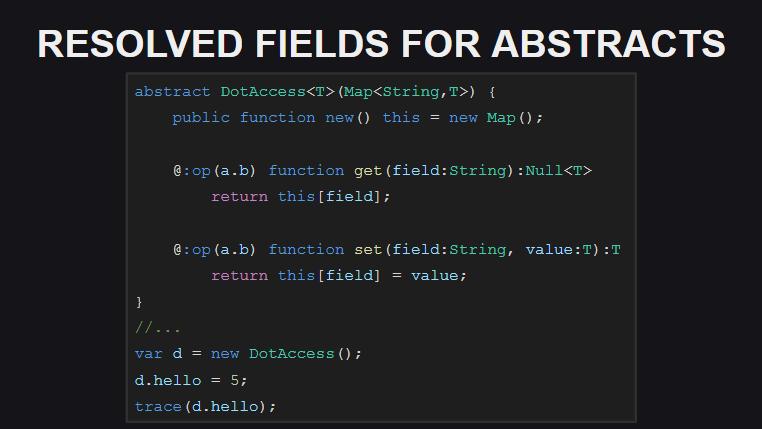 Переопределение оператора доступа к полям объекта