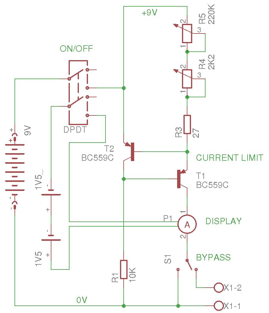 Источник стабильного тока от 5 мкА до 20 мА - 3