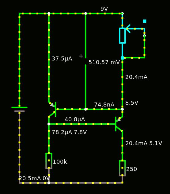 Источник стабильного тока от 5 мкА до 20 мА - 5