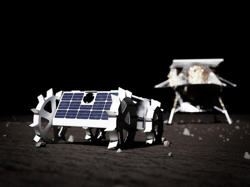 Крошечный ровер отправится к Луне в 2021 году