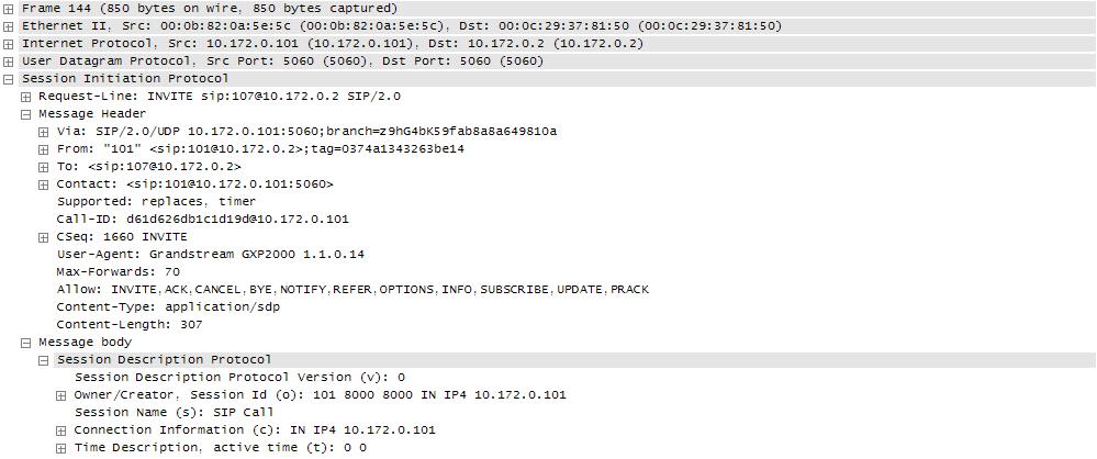 Техподдержка 3CX отвечает: захват SIP-трафика на сервере АТС - 6