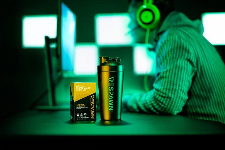 Напиток Razer Respawn призван повысить «умственные способности» любителей компьютерных игр