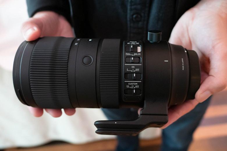 Sigma признает наличие дефекта в объективах 60-600mm F4.5-6.3 DG OS HSM   Sports и 70-200mm F2.8 DG OS HSM   Sports, приводящего к зависанию камер