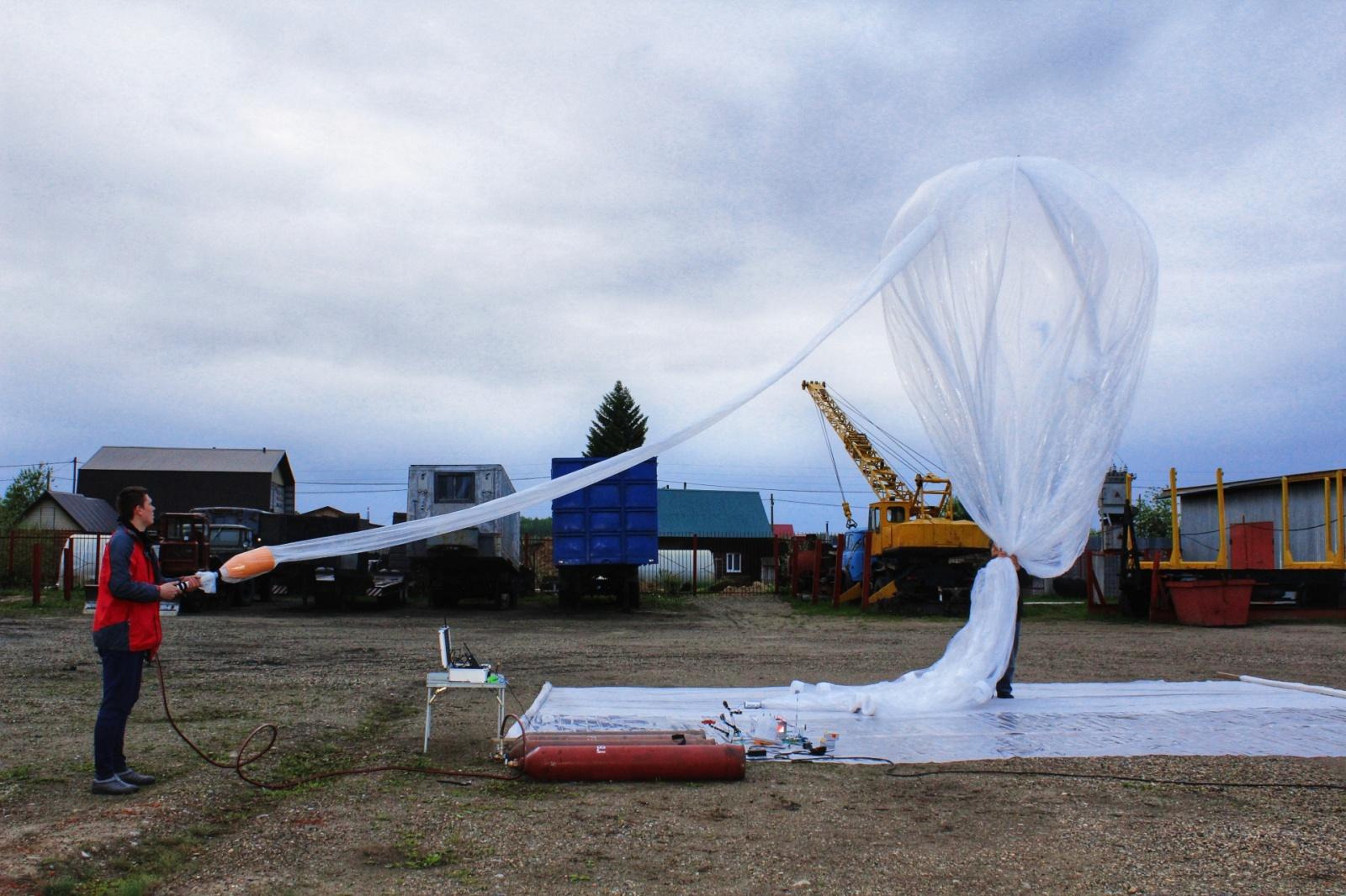 Испытания дрейфующего стратостата. Запуск Рогозина и LoRa в стратосферу - 6