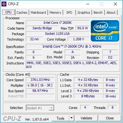Легендарный Intel Core i7-2600K: тестирование Sandy Bridge в 2019 году (часть 1) - 5