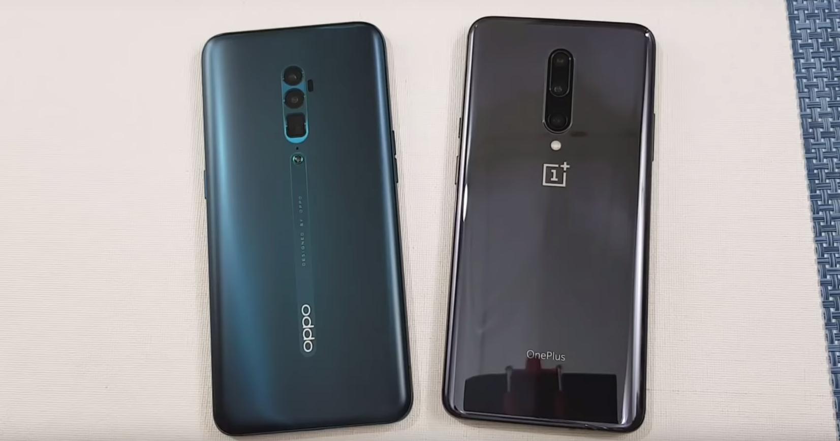 Oppo Reno 10x Zoom против OnePlus 7 Pro: тест на скорость