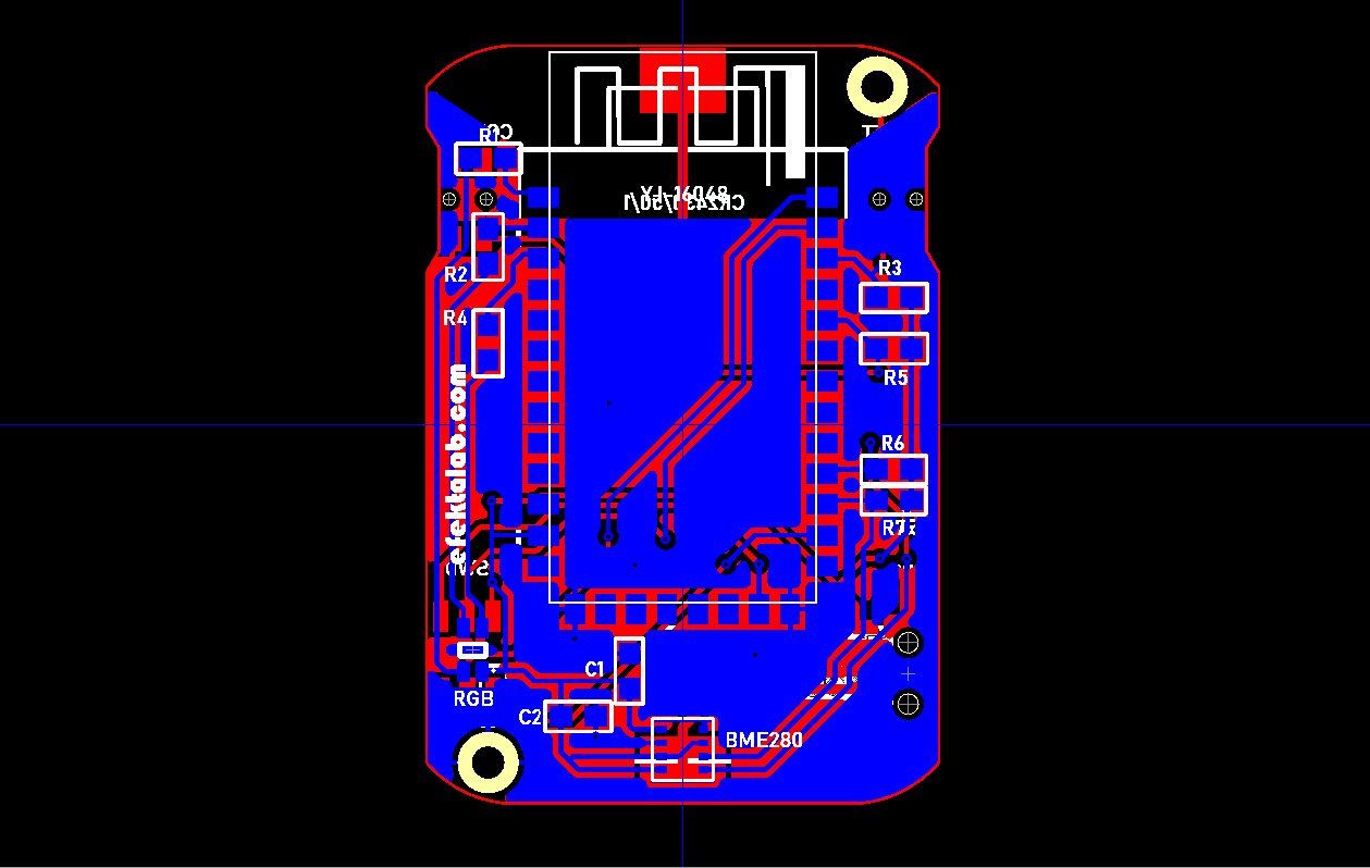 Беспроводной датчик температуры, влажности и атмосферного давления на nRF52832 - 2
