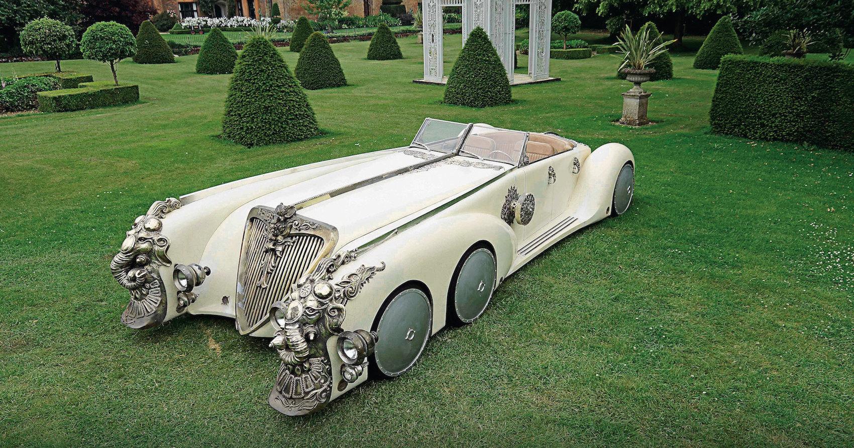 Наутилус на колесах: лимузин из сказки