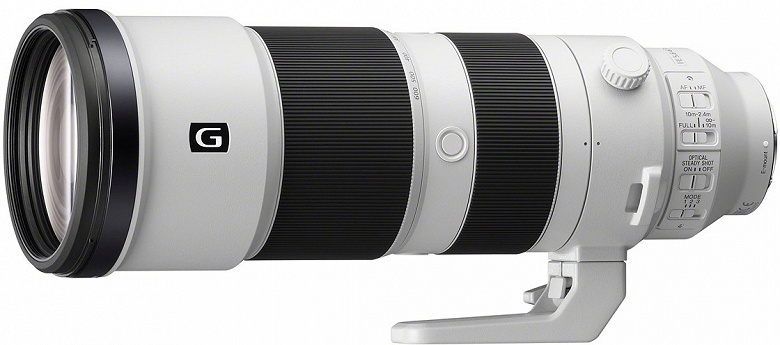 Представлен объектив Sony FE 200-600mm F5.6-6.3 G OSS