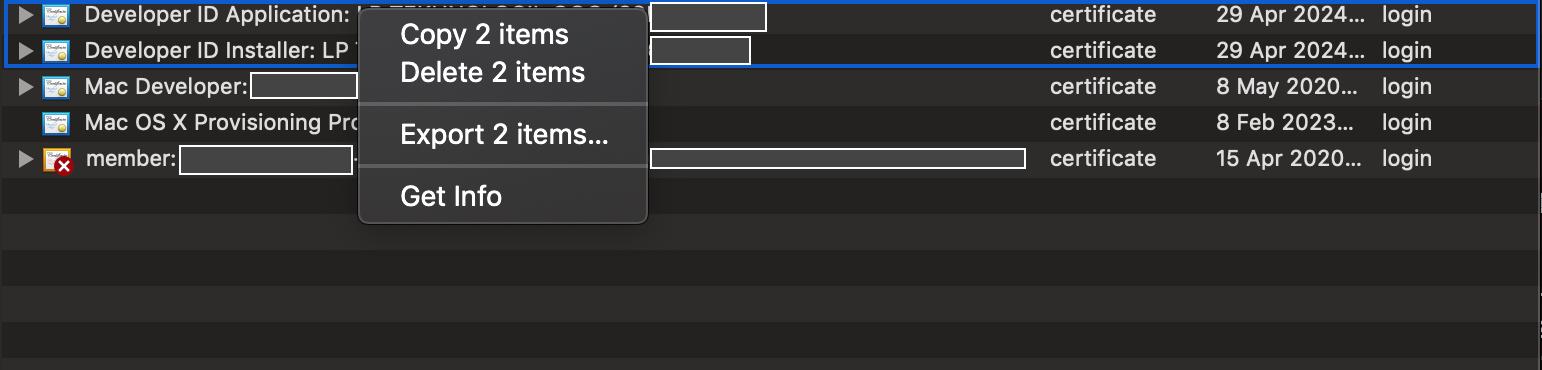 Процедура нотаризации Electron приложения для macOS 10.14.5 - 3