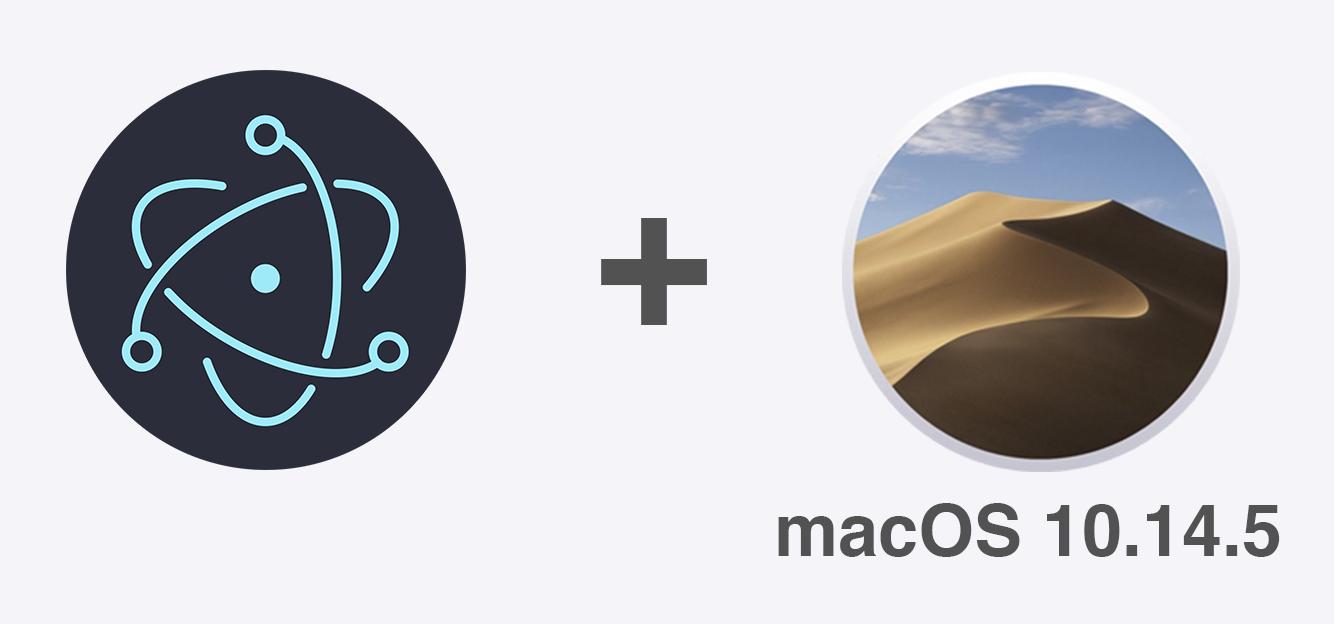 Процедура нотаризации Electron приложения для macOS 10.14.5 - 1