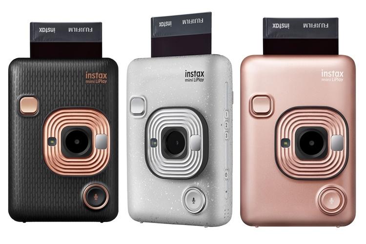 Fujifilm Instax Mini LiPlay: камера мгновенной печати с функцией записи звука