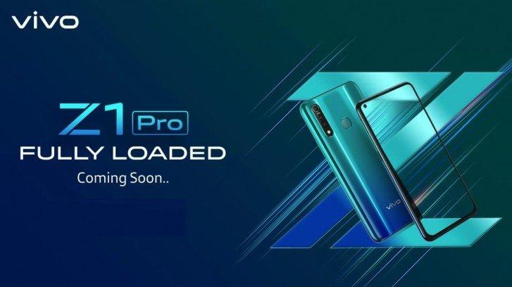 Vivo Z1 Pro получит врезанную в экран камеру и емкий аккумулятор