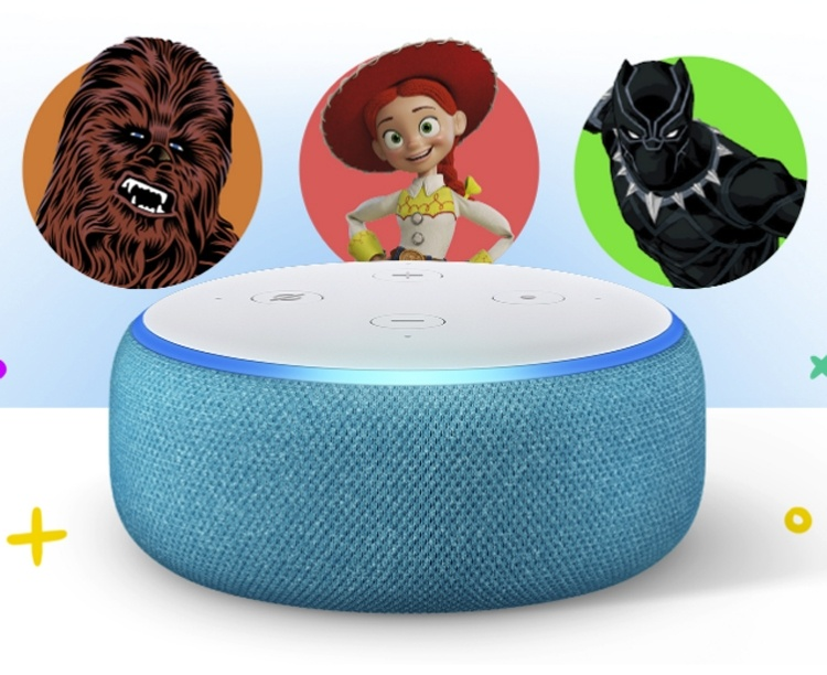 Детский смарт-динамик Amazon Echo Dot Kids Edition стал ярче и громче
