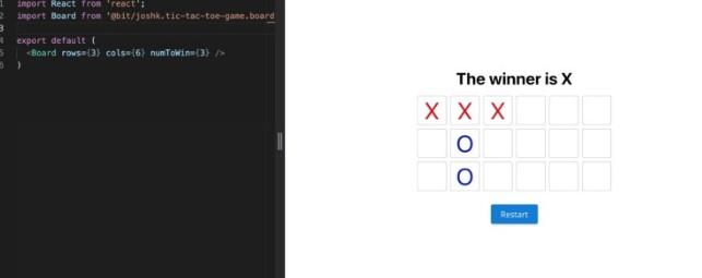 Создание игры «Крестики-нолики» при помощи TypeScript, React и Mocha - 3