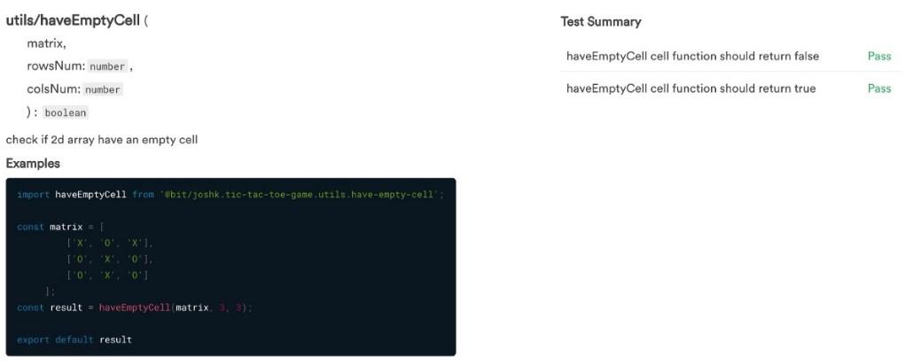 Создание игры «Крестики-нолики» при помощи TypeScript, React и Mocha - 5