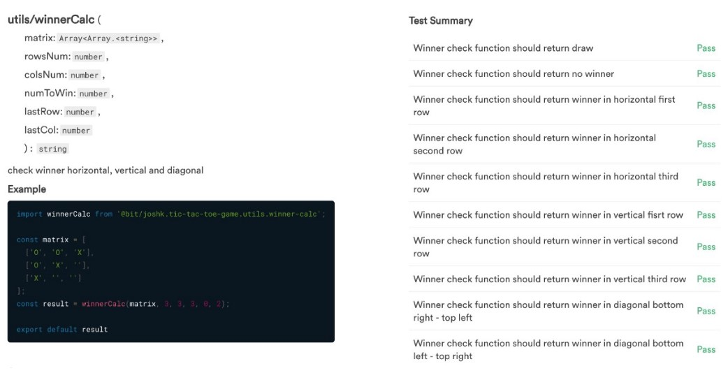 Создание игры «Крестики-нолики» при помощи TypeScript, React и Mocha - 6