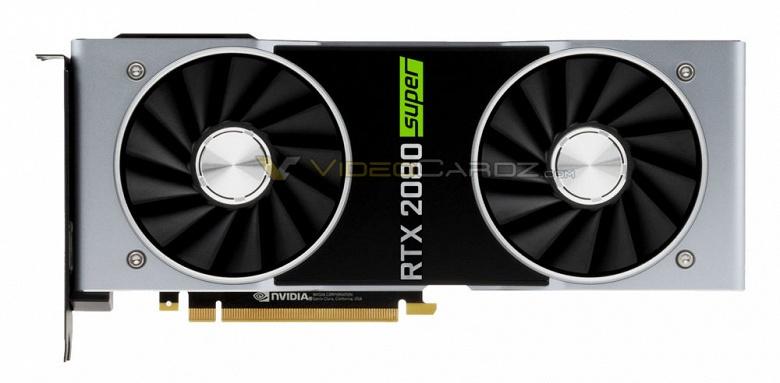 Видеокарты Nvidia GeForce RTX 20 Super выйдут в середине июля