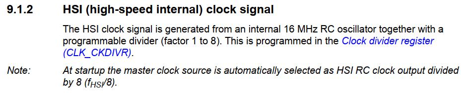 Читаем даташиты 2: SPI на STM32; ШИМ, таймеры и прерывания на STM8 - 31