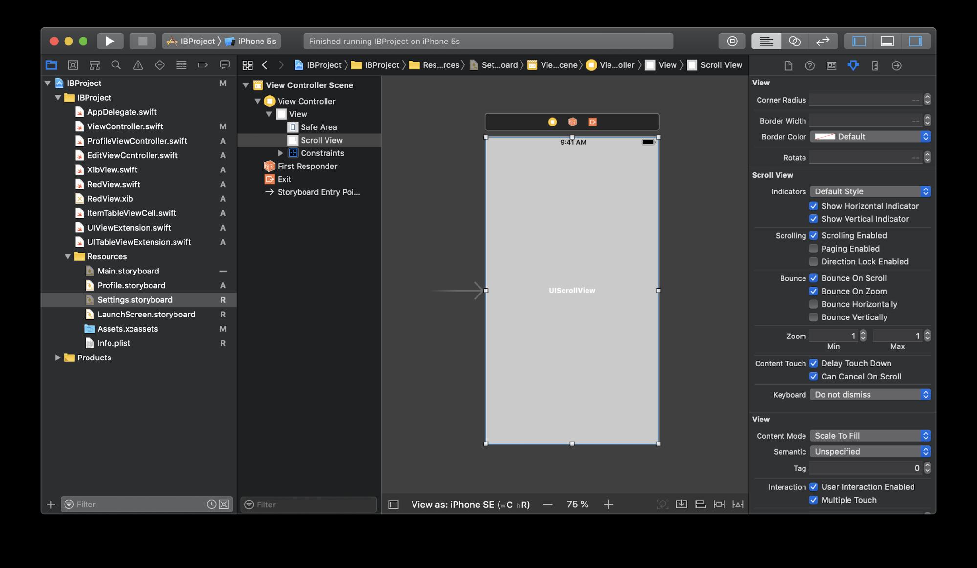 iOS Storyboards: анализ плюсов и минусов, best practices - 10