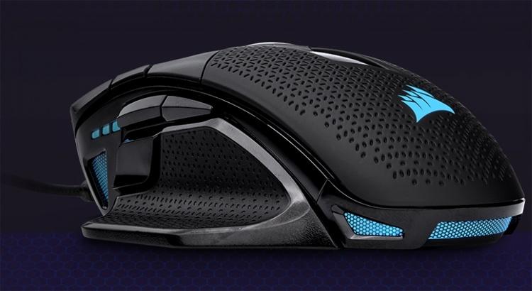 Игровая мышь Corsair Nightsword RGB получила датчик на 18 000 DPI