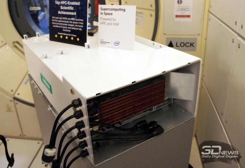 Суперкомпьютер HPE Spaceborne проработал 615 дней на МКС