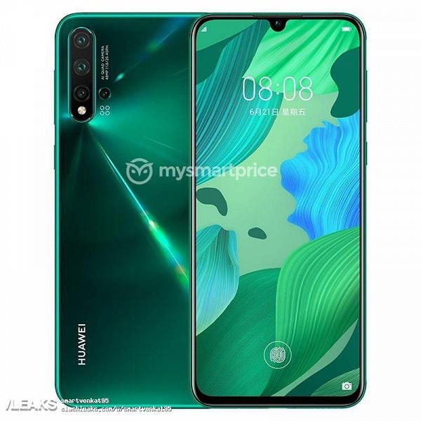 Все цвета Huawei Nova 5 Pro показаны на качественных изображениях