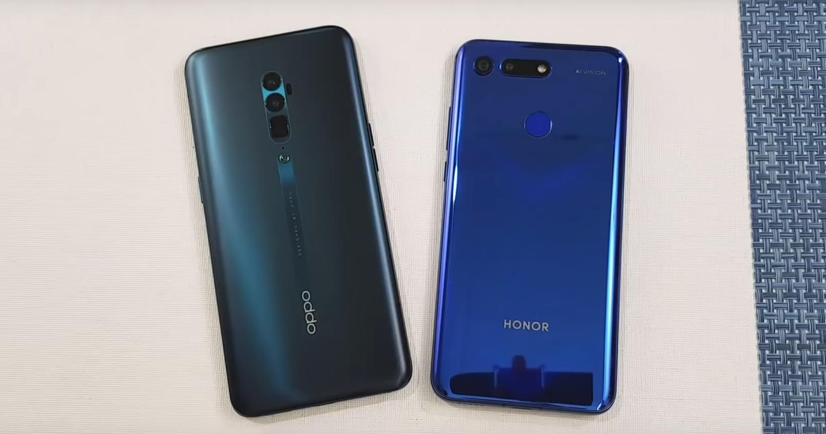 Oppo Reno 10x Zoom против Honor View 20: тест на скорость