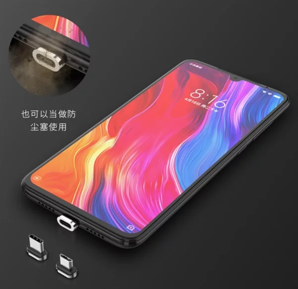 Xiaomi представила кабель Wsken X1 Pro со съемными магнитными разъемами MicroUSB и USB-C