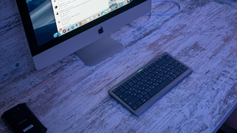 Клавотачпад. Белорусский стартап представил первую в мире клавиатуру, у которой почти все клавиши сенсорные