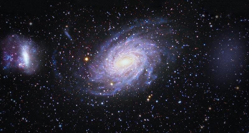 Может быть найдена галактика, столкнувшаяся в далеком прошлом с Млечным Путем