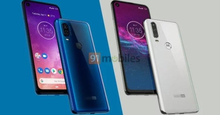 Смартфон Motorola One Action появился на рендерах