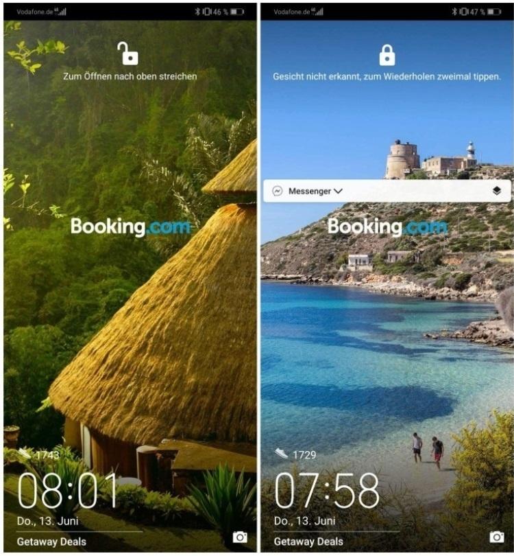 Huawei признала ошибку и убрала рекламу с экрана блокировки своих смартфонов