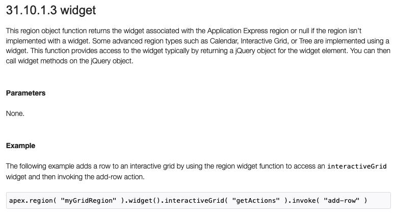 Оффдокументация JS API IG