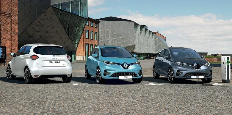 Представлен электромобиль Renault Zoe нового поколения