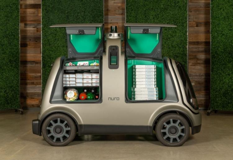 Domino's Pizza в конце года запустит доставку пиццы с помощью автономных роботов в Хьюстоне