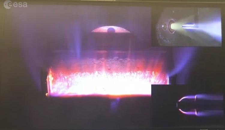 ЕКА продемонстрировало, каким образом сгорают спутники в атмосфере Земли