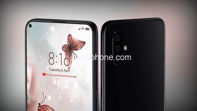 Предполагаемые рендеры Xiaomi Mi 10 демонстрируют экран с отверстием
