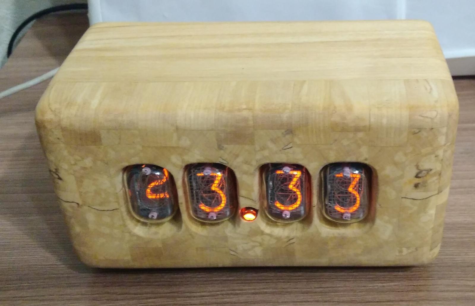 Nixie clock или теплый ламповый свет вам в дом - 11