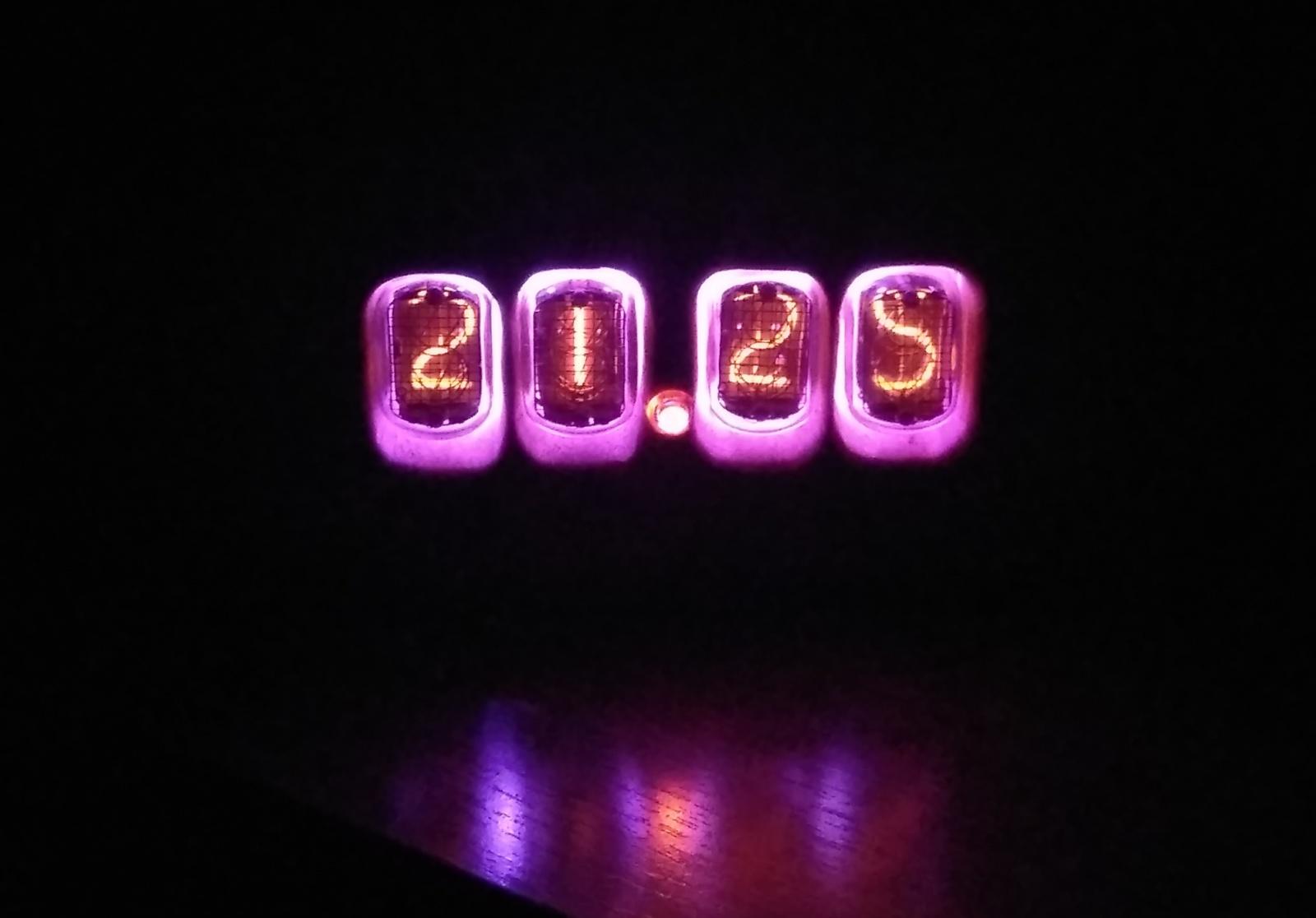 Nixie clock или теплый ламповый свет вам в дом - 12