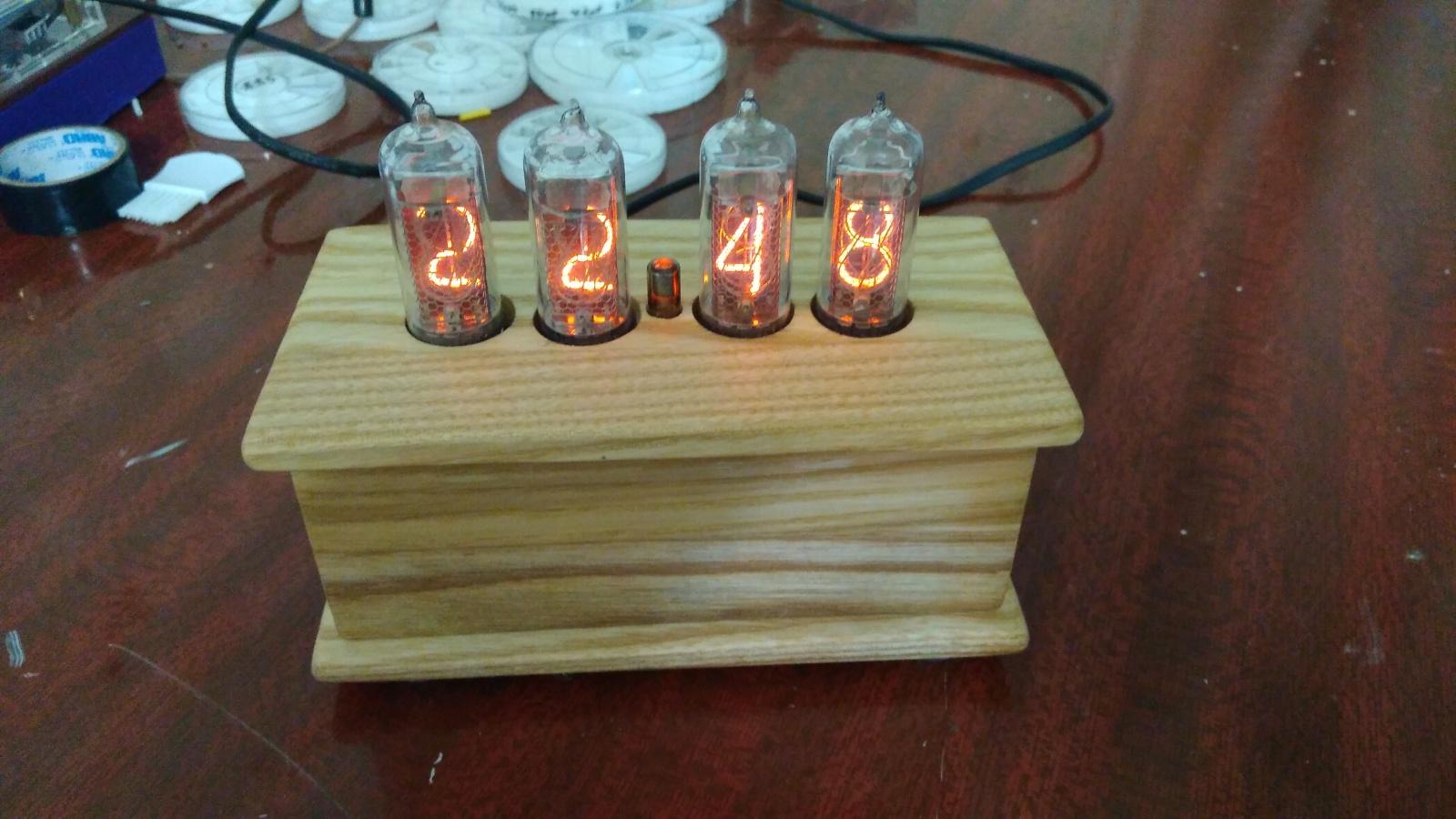 Nixie clock или теплый ламповый свет вам в дом - 13