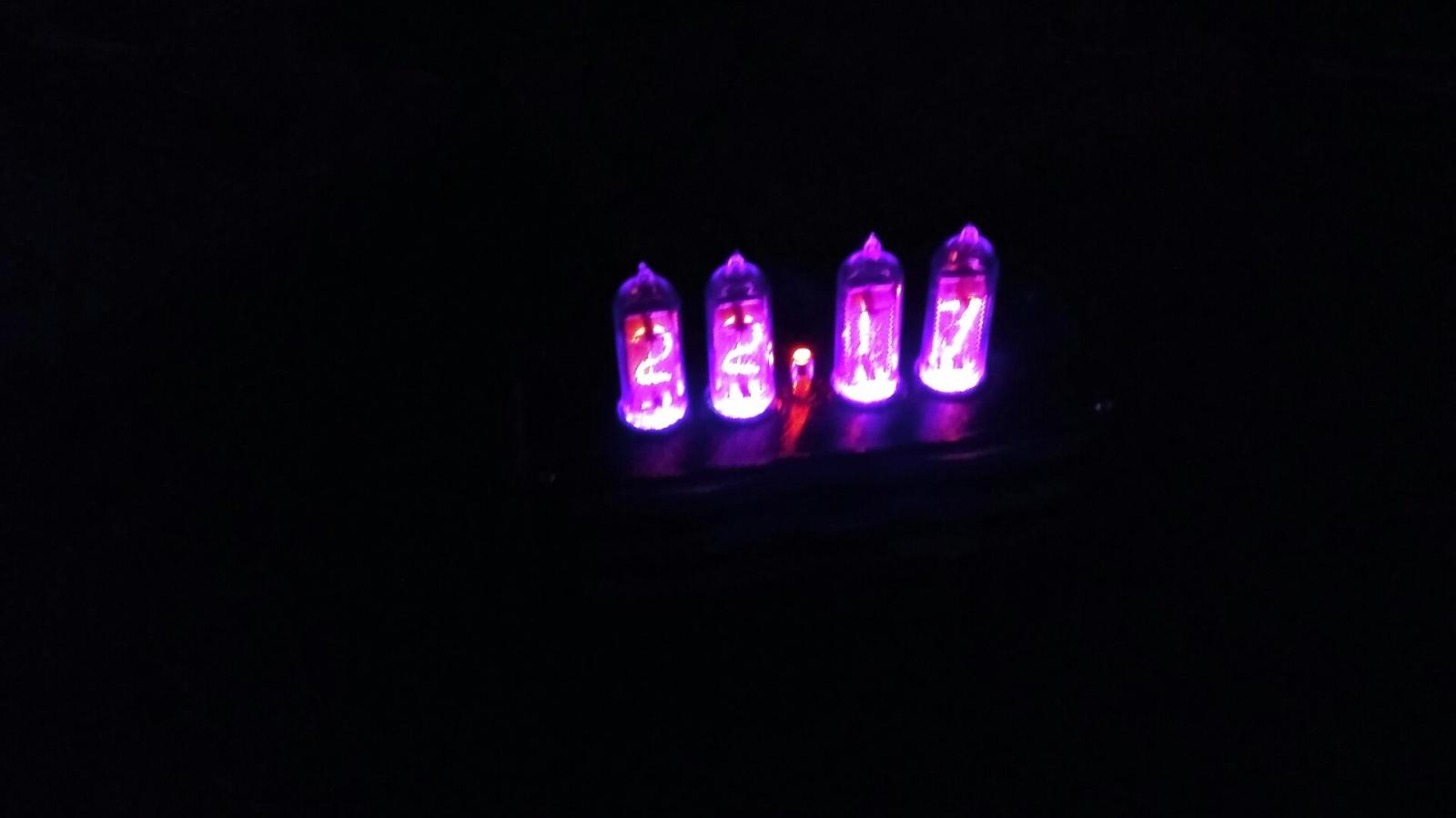Nixie clock или теплый ламповый свет вам в дом - 7