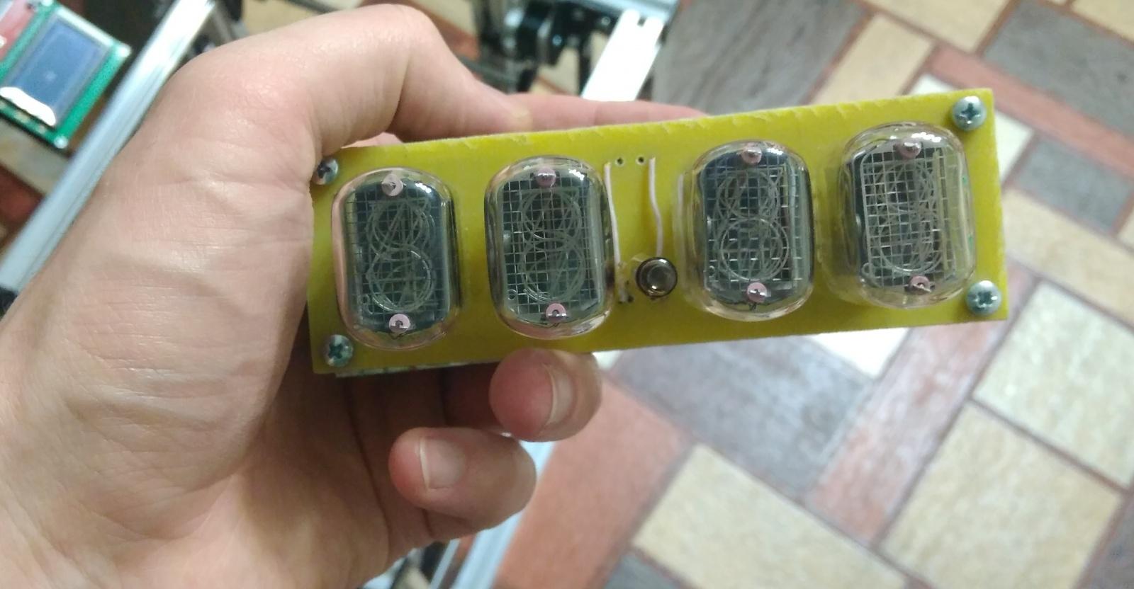 Nixie clock или теплый ламповый свет вам в дом - 9