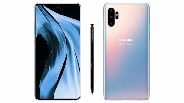Анонс Samsung Galaxy Note10 назначен на 7 августа