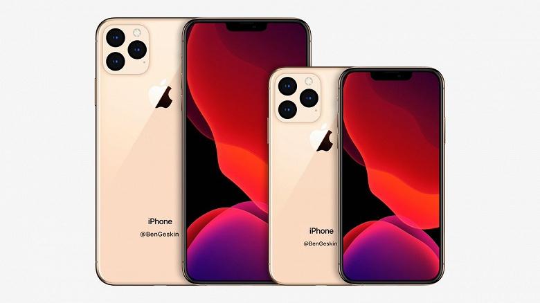 Галерея дня: Самый большой и самый маленький iPhone 2020 года сравнили между собой